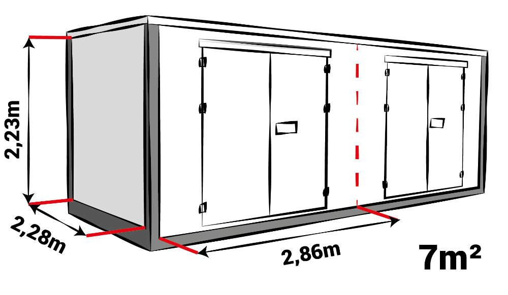 Afmeting storage box